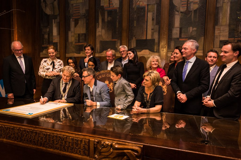 Ondertekening Convenant