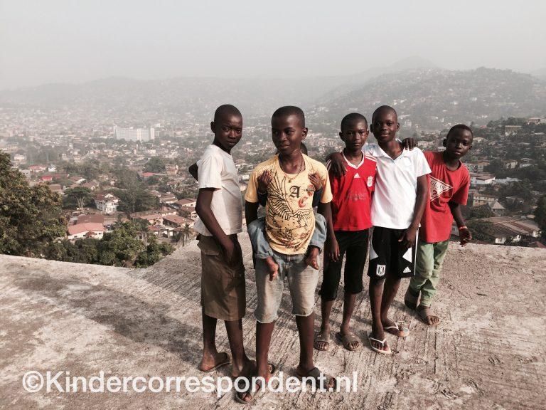 Eerste beelden uit Sierra Leone