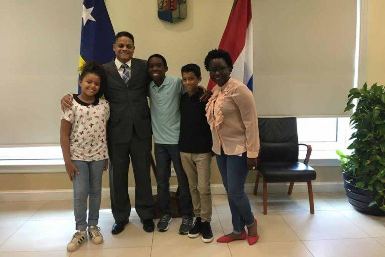 Sulin Passial eerste Caribische Kindercorrespondent