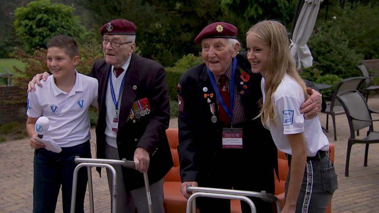 #Vteam bij Airborne herdenking
